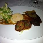 Fois Gras Torchon with Grape Terrine and Brioche